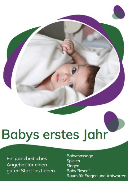 Babys erstes Jahr Sarah Luge
